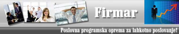 Firmar - poslovni program
